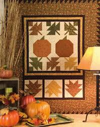 5 Free Fall & Halloween Quilt Patterns - Quilt Books & Beyond & Autumn Glow Wall Quilt Adamdwight.com