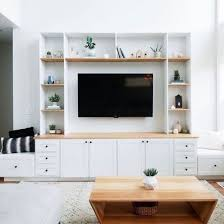 wall unit ideas living room
