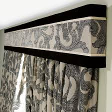 Window Curtain Box Design Add Definition By Using A Vertical Panel Of The Curtaining