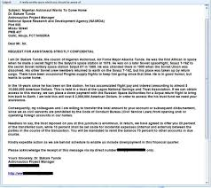 Email Scams A Selection Of Funny Nigerian Spam Letters Enough To Make A Cat