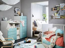 ikea childrens furniture bedroom. A Blue, Grey, Red And White Nursery With Light Blue STUVA Ikea Childrens Furniture Bedroom