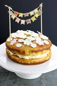 Lemon Drizzle Birthday Cake The Last Food Blog