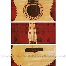 2pcs modern art red white guitars music notions decorative canvas wall posters on guitar canvas wall art red with 2pcs modern art red white guitars music notions decorative canvas