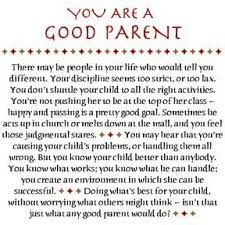 You are good a good parent - single mother quotes -motherhood ... via Relatably.com