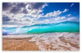 ocean waves ultra hd desktop background