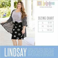 Lularoe Szl Lindsey Kimono