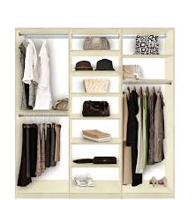 Isa Closet System Lots of Shelves and Hanging for Walk In or Reach
