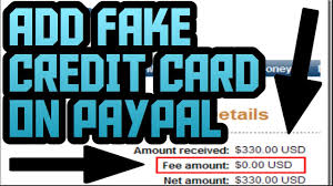 add fake credit card to paypal how to add fake credit card to paypal working august 2017