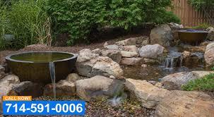 koi pond repair contractor orange county
