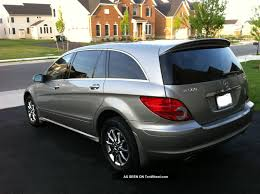 2007 Mercedes - Benz R500 4matic 52k Pano Roof 3rd Row