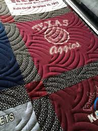 45 best Quilts - Hobbs Batting images on Pinterest | Hobbs, Free ... & Leah's Aggie T-shirt quilt uses Hobbs Heirloom 80/20 batting. Beautiful  quilting Adamdwight.com