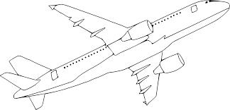 Coloriage Avion A380 Imprimer Sur Coloriages Info