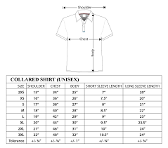 Image Result For Mens Polo T Shirt Measurement Chart Mens