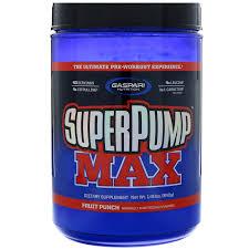 gaspari nutrition superpump max the ultimate pre workout supplement fruit punch blast