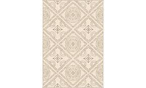 orian rugs sonoma indoor outdoor camille seashell area rug 5 2 x 7 6 groupon
