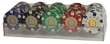 These bitcoin poker sites operate in btc which is the only payment method and currency used at the real money tables for playing bitcoin poker. Bitcoin Poker Chip Set Near Casino Quality 100 Chips With Hard Plastic Rack Walmart Com Walmart Com