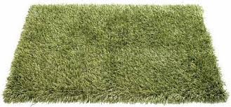 outdoor rug turns paved backyards into grassy grounds rug that looks like grass