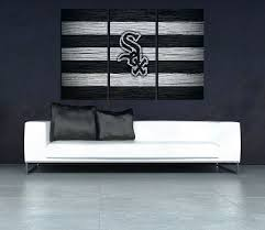 promo hd print oil painting home decor wall art flash on canvas chicago white sox unframed