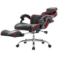 office recliners. viva office fashionable high back bonded leather racing style recliner gaming chair with footrest office recliners