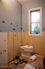 Image Trim The Individual Beadboard Planks Make This Process Much Easier Than It Would Be With Large Sheet Diy Decor Mom Beadboard Bathroom How To Diy Beadboard That Looks Professional