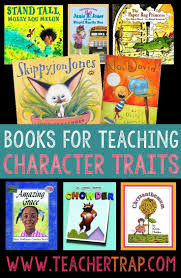 the best books for helping students understand and identify character traits
