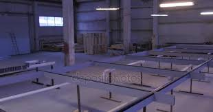 frame for stained glass manufacture of stained glass moving and roll on manufacture of glass
