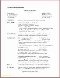 Senior Accountant Resume Accounting Resume Template Examples Senior Accountant Resume Sample