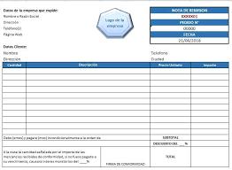Formatos De Factura Formato De Factura Ejemplos Y Formatos Excel Word Y