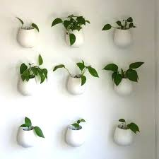 hanging planters and container garden ideas for indoors indoor living wall planter diy hanging planters and galvanized wall pocket planters
