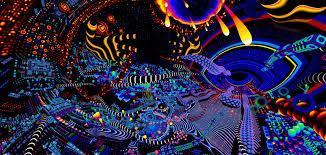 psychedelic visuals of tas