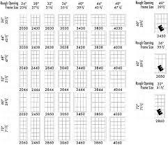 Egress Window Size Chart Standard Home Window Sizes Lymbienesraices Co