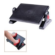 <b>Подставка для ног Brauberg</b> с фиксаторами, черная — купить в ...