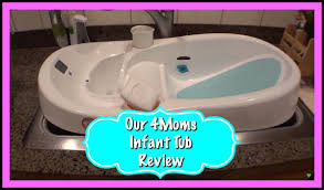 Baby Bathtub Review - 4Moms Infant Tub! - YouTube