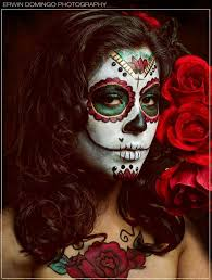 mexican day of the dead skull makeup
