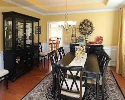 dining room color ideas with chair rail home interior design on dining room colors