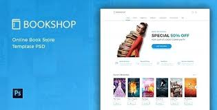 Free Bookstore Website Template Online Bookstore Template Website Download Syncla Co