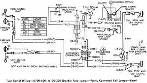 chevy wiring diagram wiring diagram schematics baudetails dodge d100 600 and w100 500 turn signal wiring diagram all about
