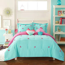 com better homes and gardens soft and cozy pom pom kids bedding twin comforter set for girls 3 piece in a bag teal home kitchen