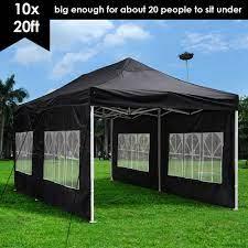 yescom 10x20 ez pop up canopy folding