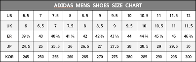 Adidas Soccer Boot Size Chart Best Picture Of Chart