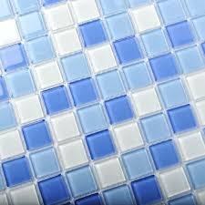 blue glass tile bathroom crystal glass tiles blue glass mosaic tile sea glass bathroom ideas with