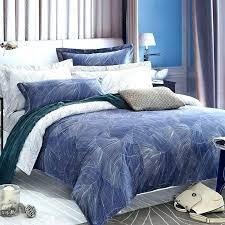 print cotton bedspreadhawaiian duvet covers navy blue tropical hawaiian theme leaf pattern luxury 100 egyptian cotton