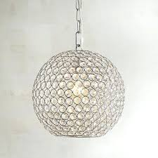 halden glass orb pendant light