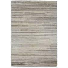 plantation rug co simply natural 100 percent wool rug 70x240 grey stripe