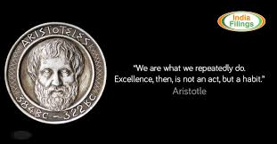 Aristotle Excellence Quote Simple Aristotle's Quote On Excellence