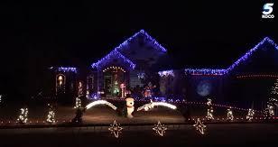 Yukon Lights Hours Watch Yukon Home Brings Festive Lights Entertainment To Neighborhood