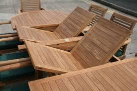 deauville 8 seater teak garden furniture set