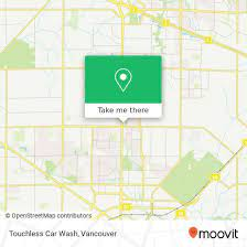 how to get to touchless car wash in