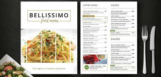 Menu Card Template 14 Restaurant Menu Card Designs Templates Psd Ai