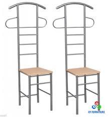 Coat Rack Chair Wooden Clothes Rack Valet Servant Chairs Suit Stands Coat Hangers 33